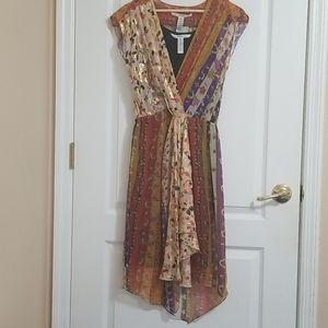Diane von Furstenberg Silk Multi Pattern Dress 4